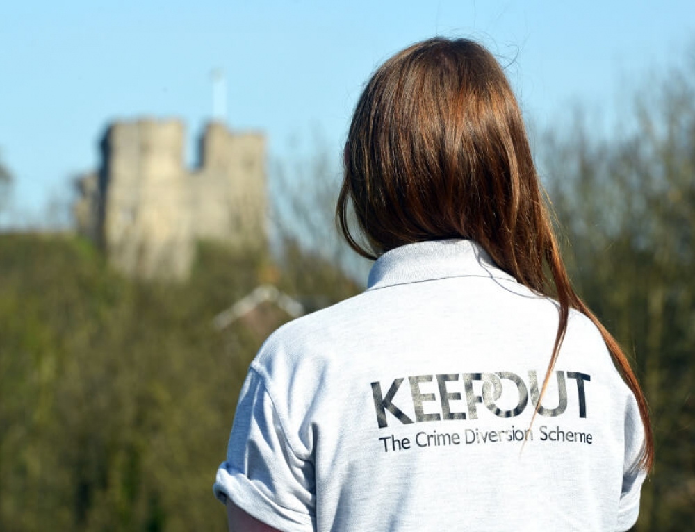 KeepOut – The Crime Diversion Scheme